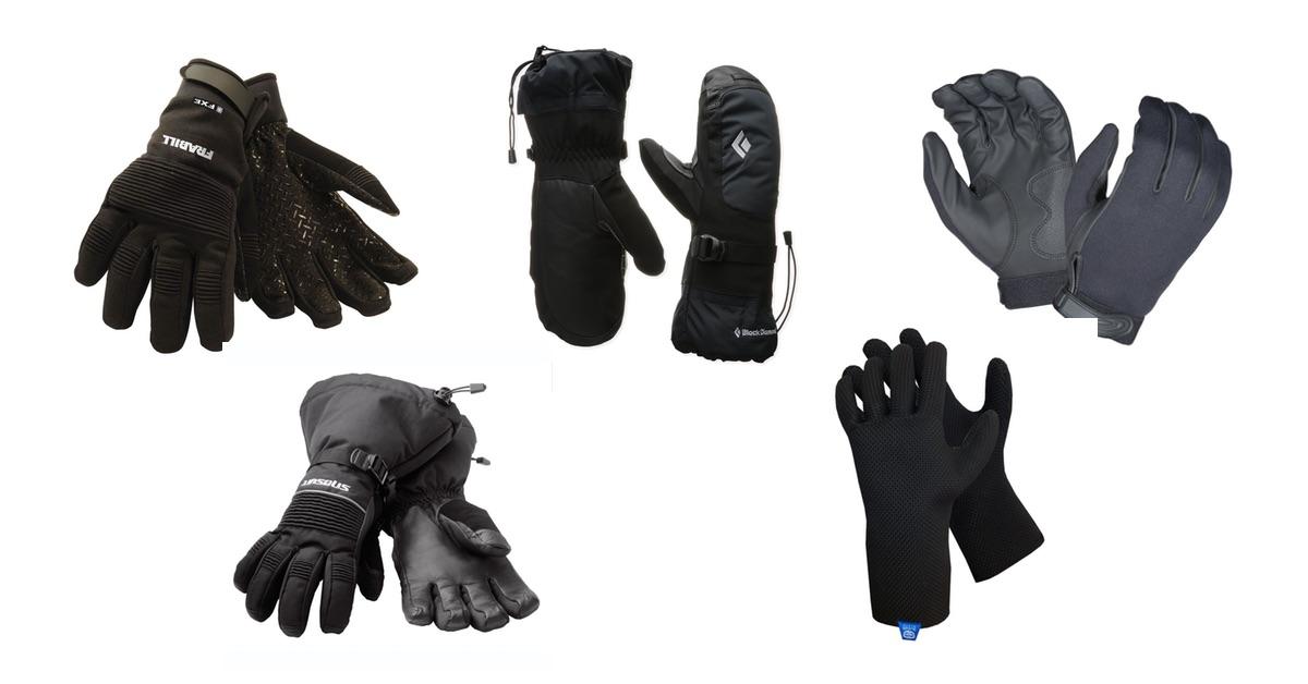 The 5 best ice fishing gloves in 2018 neoprene for Best ice fishing gloves
